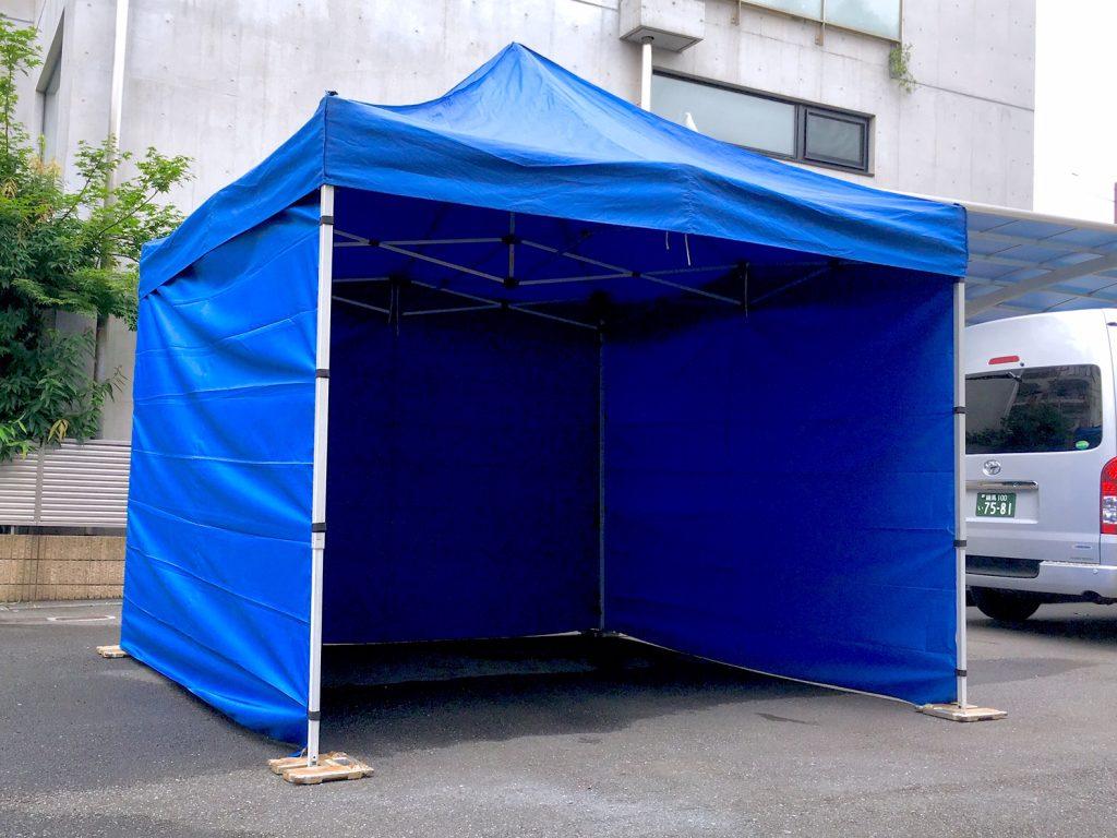 テント3m×3m画像