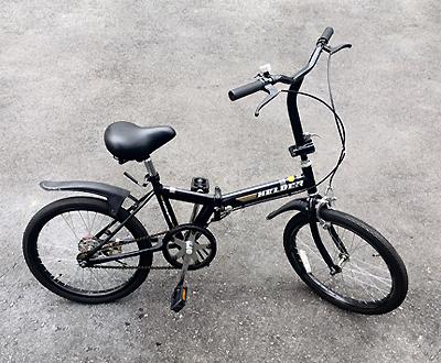 折り畳み自転車画像